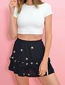 Atikshop Starry Night Mini Skirt