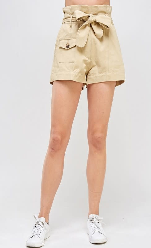 Seek The Label Paperbag Safari Shorts