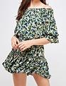 Seek The Label Watercolor Mini Dress
