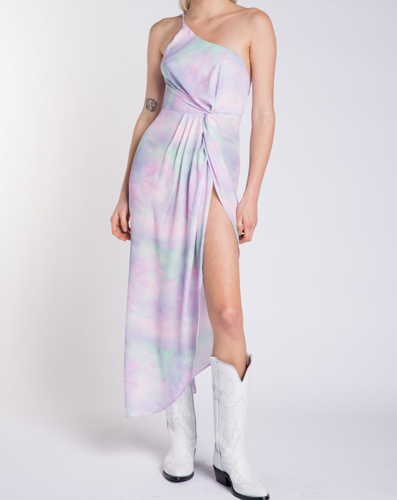 Seek The Label Fiona Tye Dye Maxi