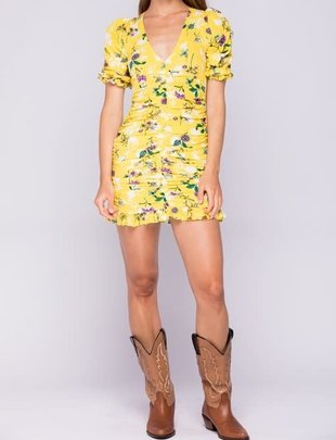 Seek The Label Elsa Floral Mini Dress