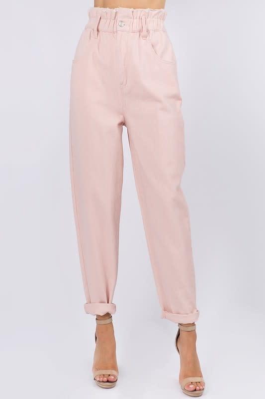 Seek The Label Paperbag Twill Pants