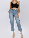 Seek The Label High Waist Double Buckle Jean