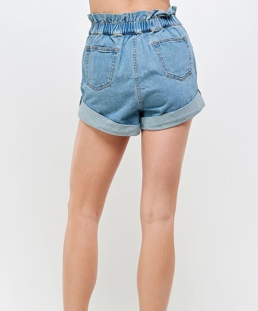 Seek The Label Paperbag Roll Up Shorts