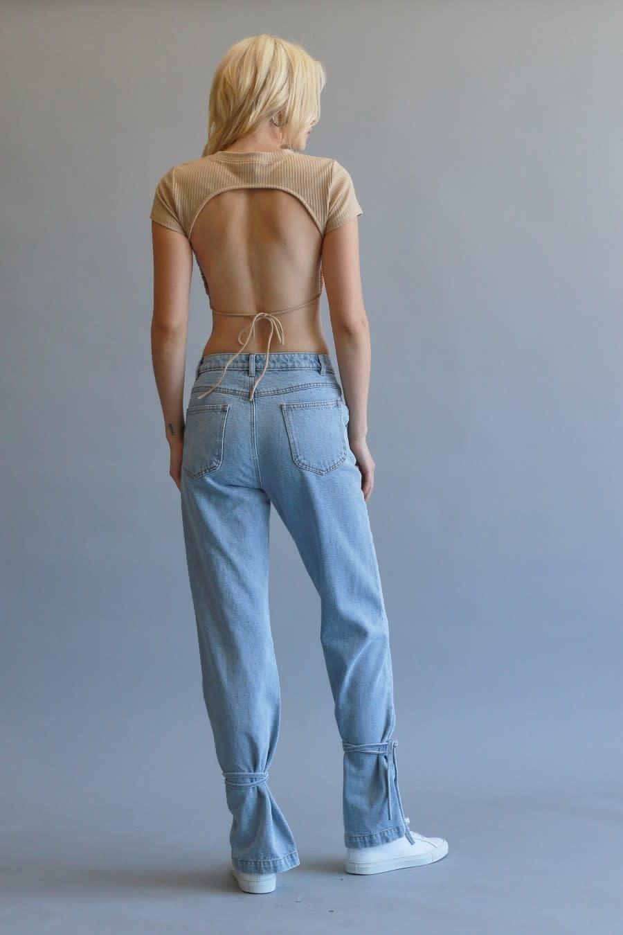 Seek The Label Tie me up Denim Pants