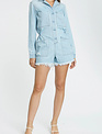 Seek The Label Freda L/s Button Front Romper