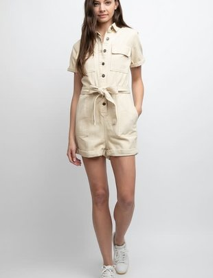 Seek The Label Sandy Utility Romper