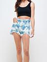 Tye dye Paperbag Shorts