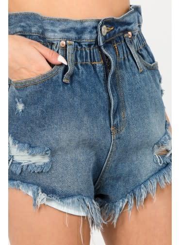 Atikshop Destroyed Paperbag Shorts