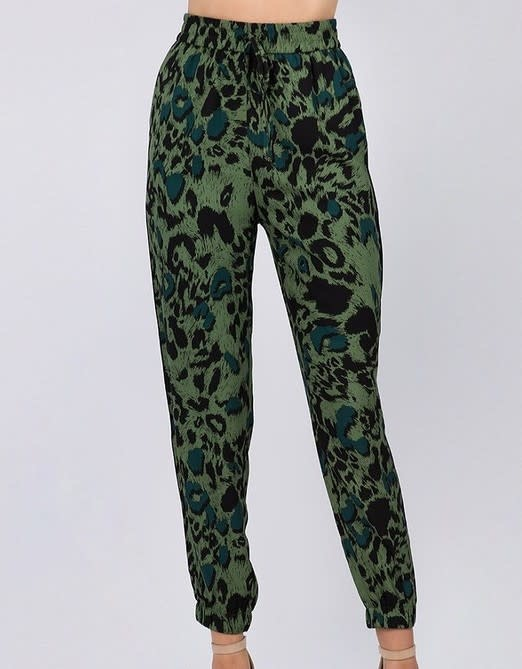 Seek The Label Leopard Print Joggers
