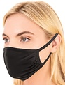 Seek The Label Double Layered Mask (Black)