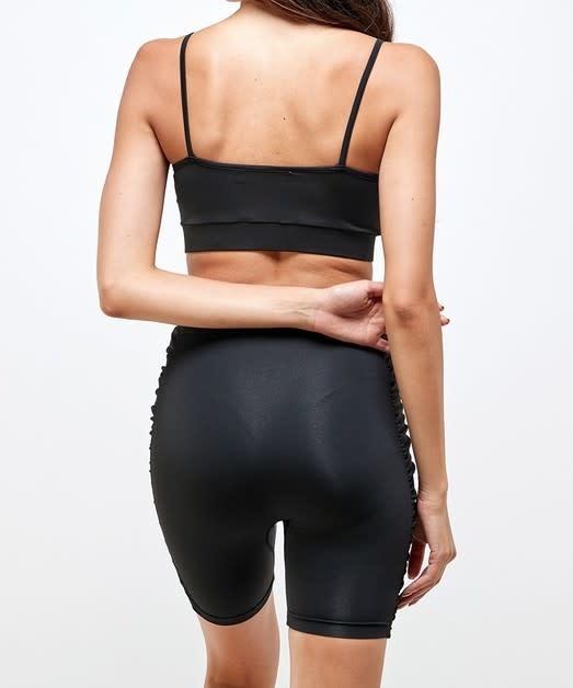 Seek The Label Shirred Biker Short