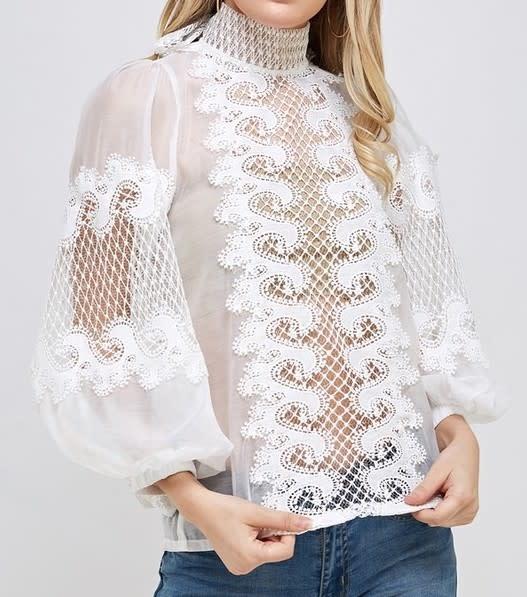Atikshop Rebecca Embroidered Blouse
