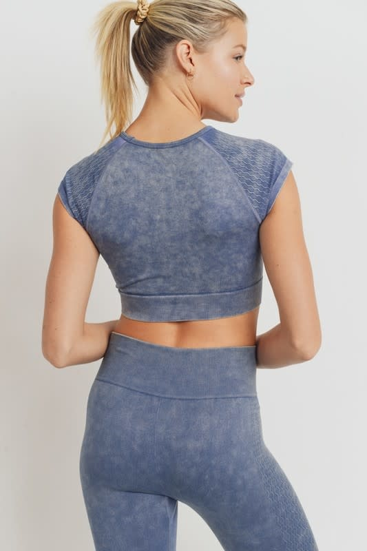 Seek The Label Seamless Crop Top