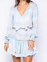Atikshop L/s Multi Tie Dye Mini Dress