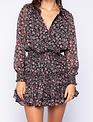 Atikshop Laila L/s Floral Mini Dress