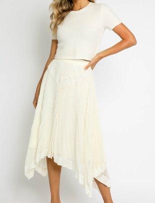 Atikshop Pleated Mix Skirt