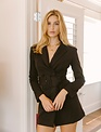 Seek The Label Belted Blazer Jacket Dress