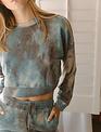 Seek The Label Maddy Tye Dye Crop L/s