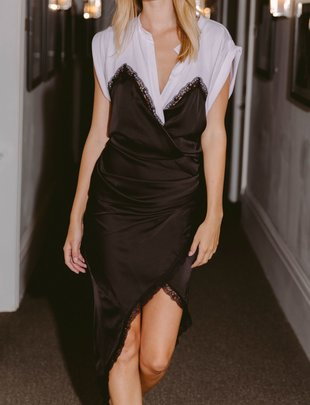 Seek The Label Winston Satin Dress