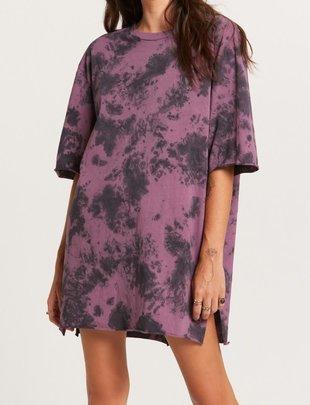 Atikshop Tie Dye T-shirt Dress