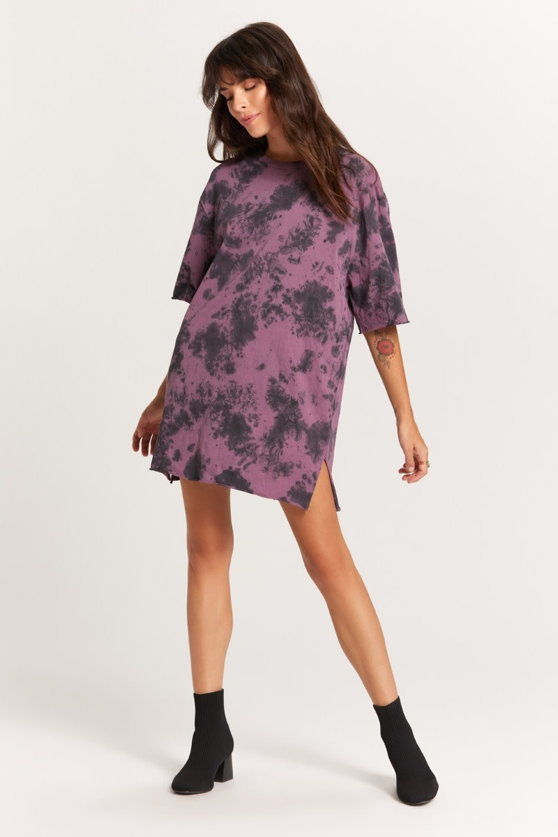 Atikshop Tie Dye T-shirt Dress