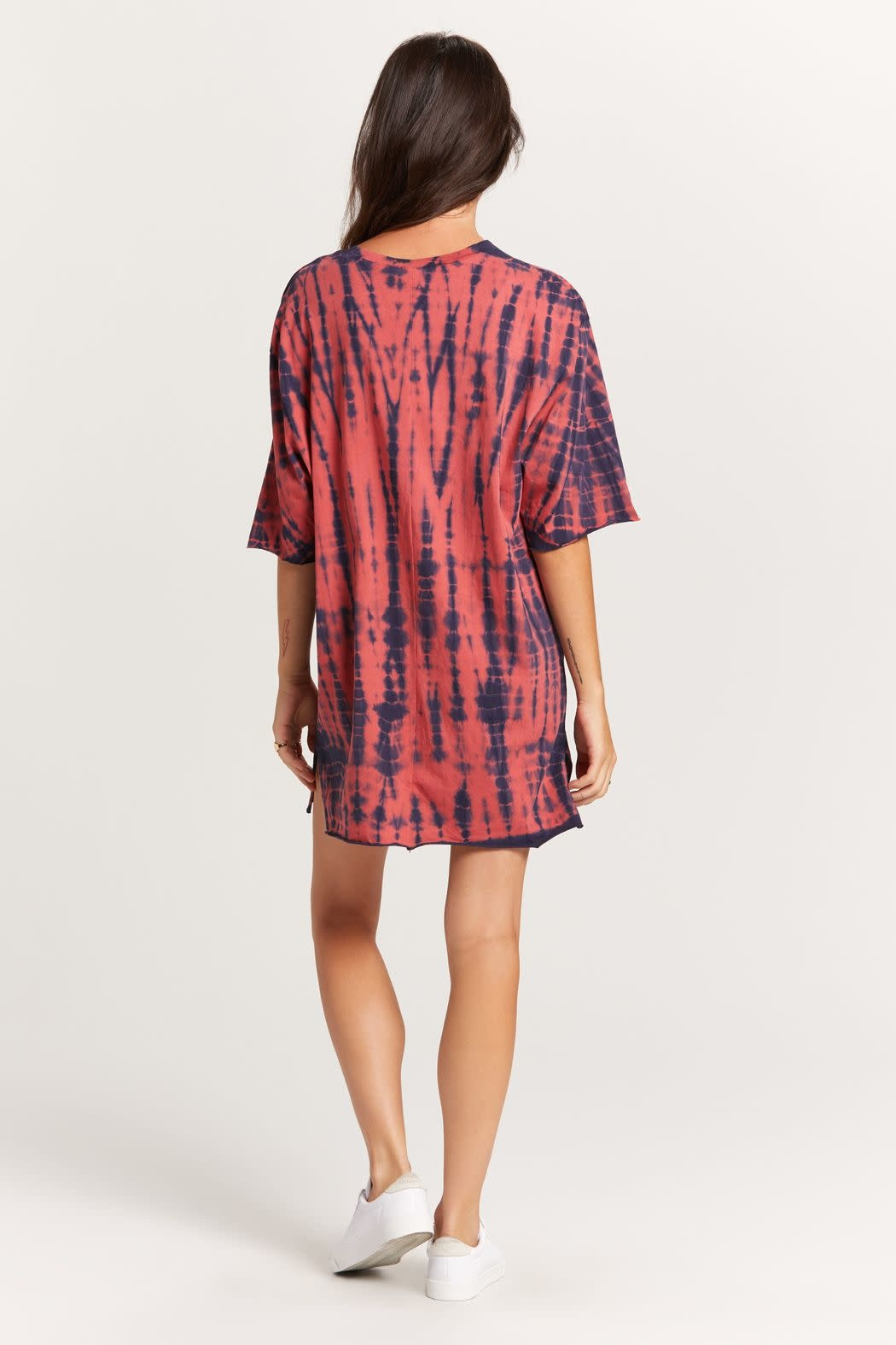 Seek The Label Tie Dye T-shirt Mini Dress