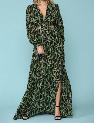 Atikshop Camilla L/s Maxi Dress