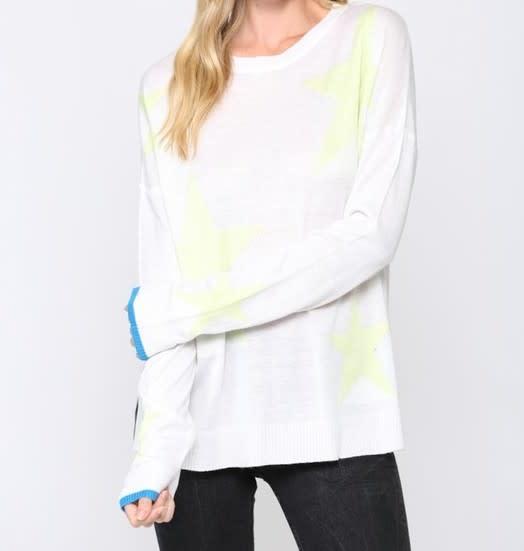 Seek The Label Star Knit Sweater