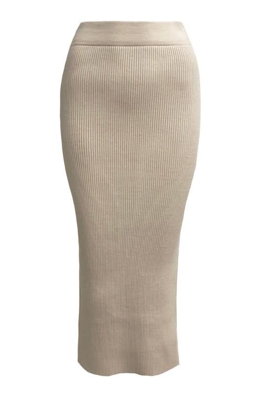 Seek The Label Gigi Knit Maxi Skirt