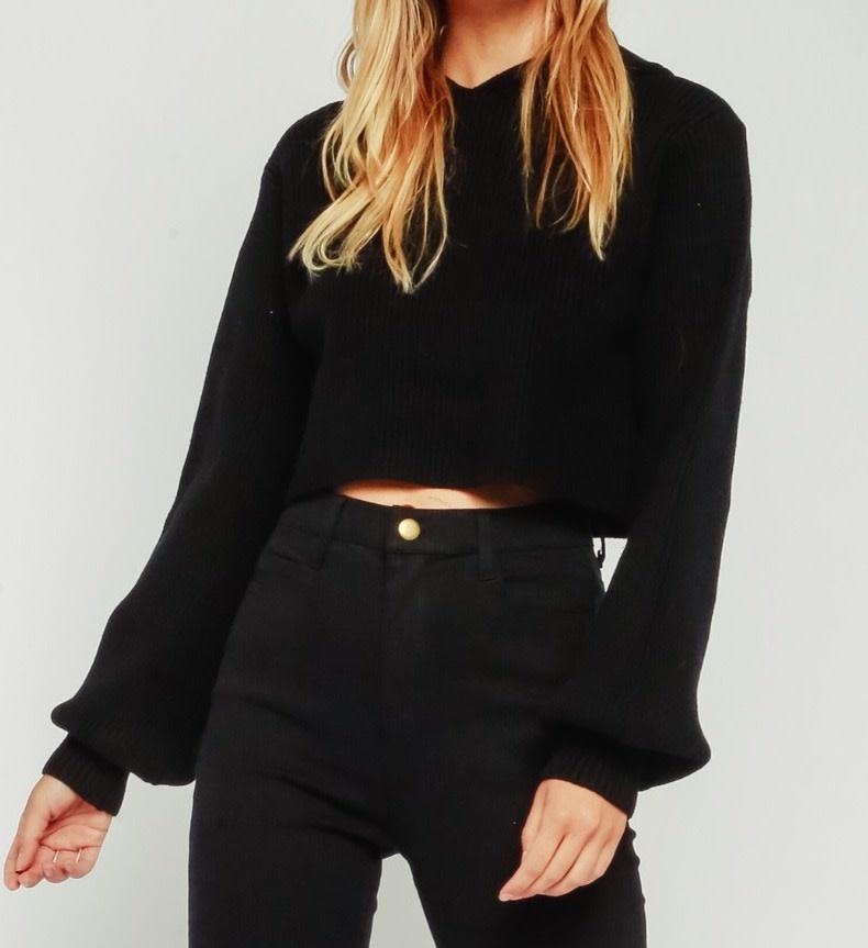 Seek The Label Ribbed Hoodie Sweater