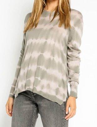 Seek The Label Side Zip Tie Dye Sweater