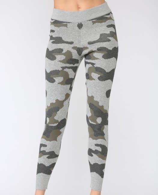 Seek The Label Camo Knit Jogger