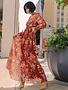 Atikshop Sunset Floral Maxi Dress