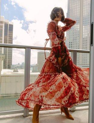 Atikshop Love Shack Maxi Dress