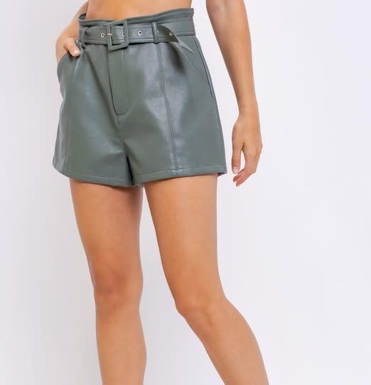 Atikshop HW paperbag Faux Leather Short
