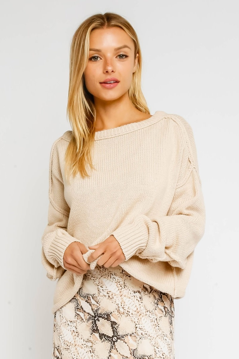 Atikshop Inside Out Sweater