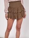 Atikshop Smocked Mini Skirt