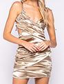 Seek The Label Satin Cut Out MIni Dress