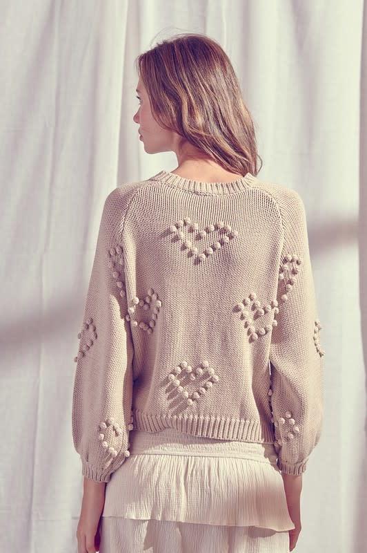 Atikshop Heart Sweater