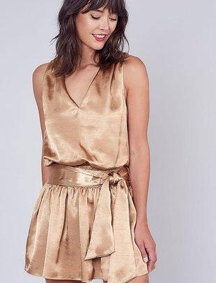 Atikshop Goldie Sleeveless Mini Dress