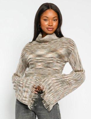 Atikshop Multi Knit Turtleneck Sweater