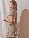 Atikshop Ximena Dip Dye Mini Dress