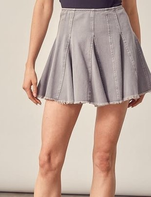 Atikshop Edge Denim Skirt