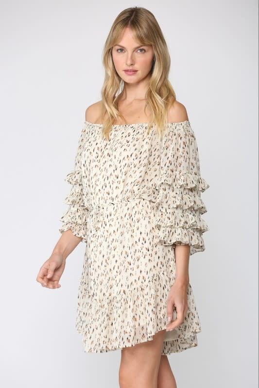 Atikshop Harper Ruffle Detail Dress