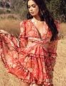 Atikshop Claudine Sunset Mini Dress