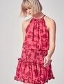 Atikshop Darragh Smocked Mini Dress