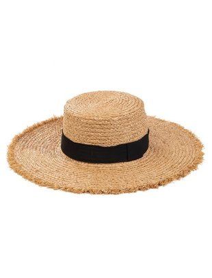 Atikshop Flat Top straw Hat