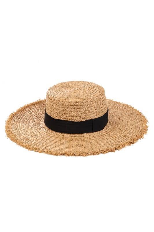 Atikshop Flat Top straw Hat
