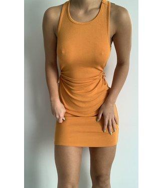 Seek The Label Cut Out Detail Tank Mini Dress